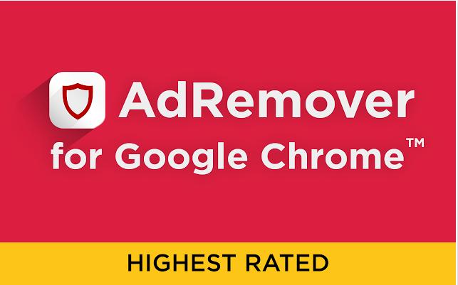 AdRemover for Chrome free pop up ad blocker