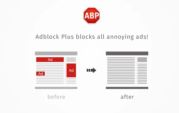 Adblock Plus for Firefox, Chrome, Opera and Safari