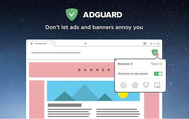 Adware blocker free pop up