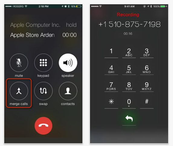 Automatic Call Recorder for Calls Made with app