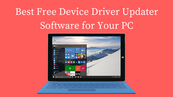 Free Device Driver Updater Software