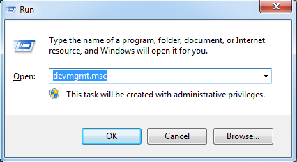 Fix the Error with the Device Manager