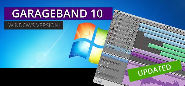 GarageBand for Windows 10