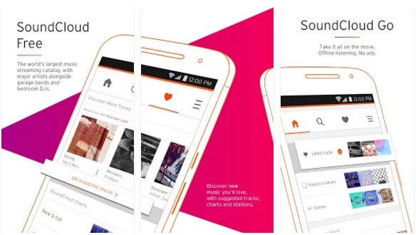 SoundCloud best Free Music Download App for android