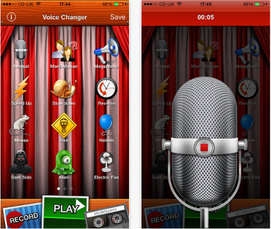 Voice Changer for iPhone