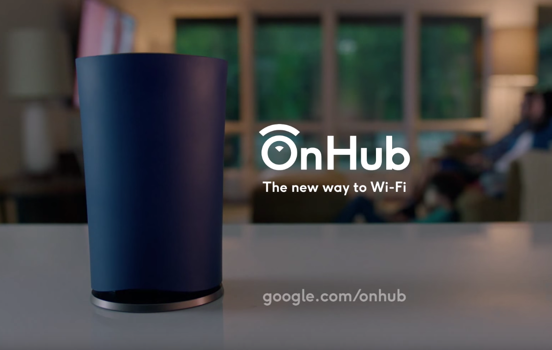 google onhub router for wi fi