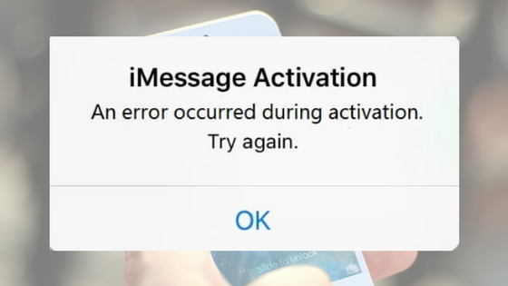 "iMessage ""Waiting for Activation"" Error on iPhone"