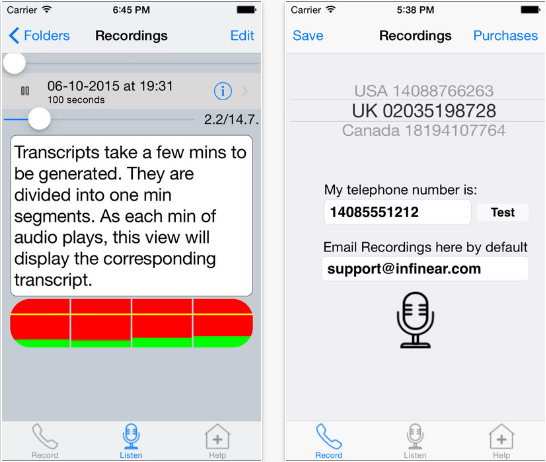iPhone Call Recording Pro Free