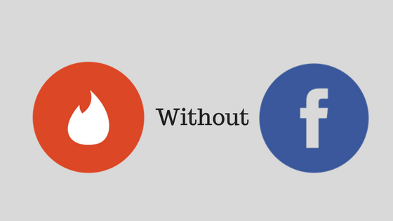 tinder without facebook