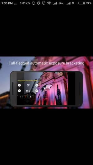 CAMERA FV 5 app