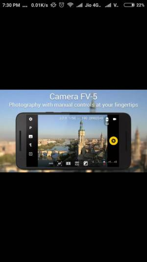 CAMERA FV 5 best android apps
