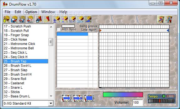 DrumFlow free beat making software