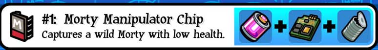 Morty Manipulator Chip