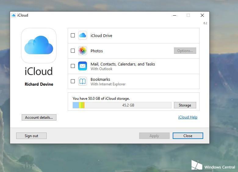 Step 3-Setup iCloud on Windows 10