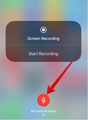 iPhone Screen Recording with audio