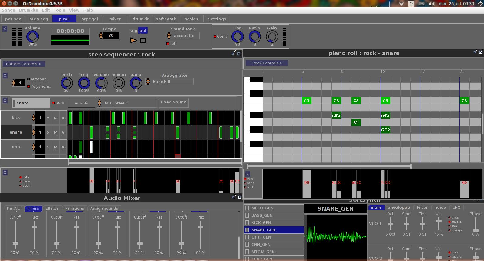 orDrumbox beat making software