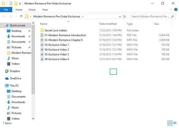 password protect folder windows 10