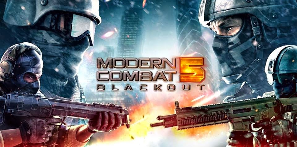 Modern Combat 5 Blackout android shooting game