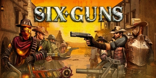 Six Guns android shooting game