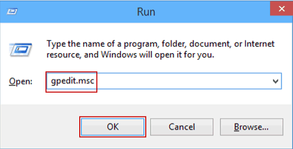 group policy editor windows 10 gpedit.msc method 1