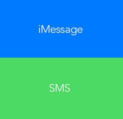 imessage or sms
