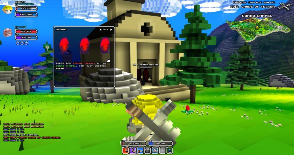 Cube World game like minecraft