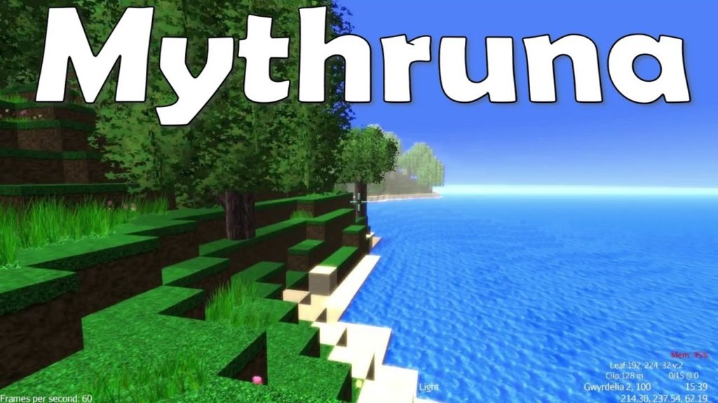 MyThruna game like minecraft