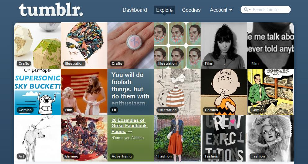 Ways To Get Mass Traffic From Tumblr
