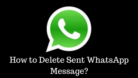 Delete Sent WhatsApp Message