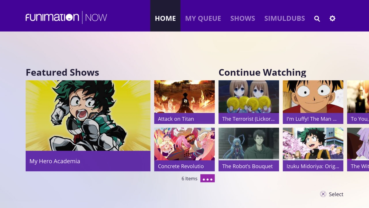 Funimation for Dragon Ball Super full episodes