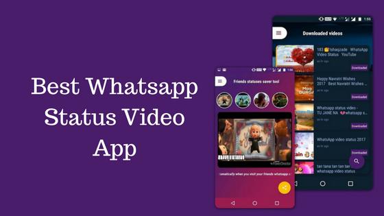Whatsapp video status app download