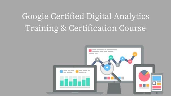 Google Certified Digital Analytics