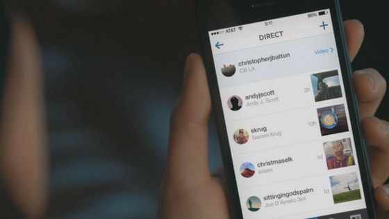 how to send a message on instagram online