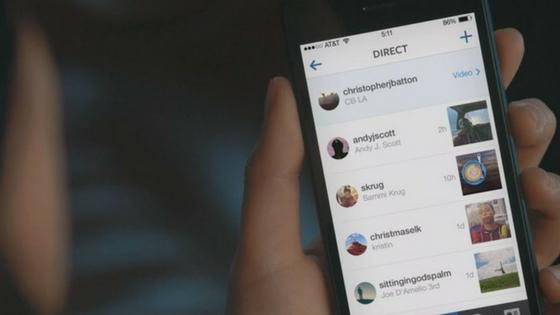 how to open instagram messages online