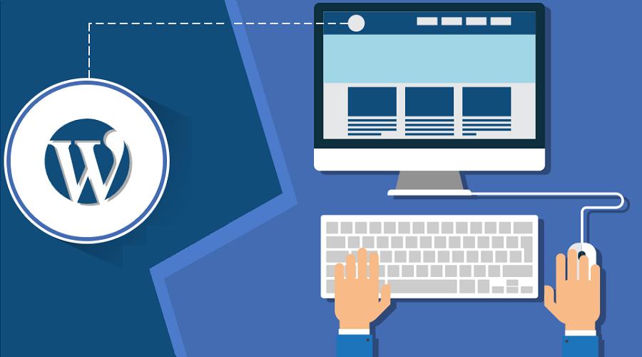 wordpress website for blogger