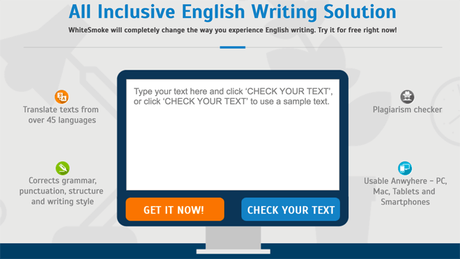 WhiteSmoke online grammar checker