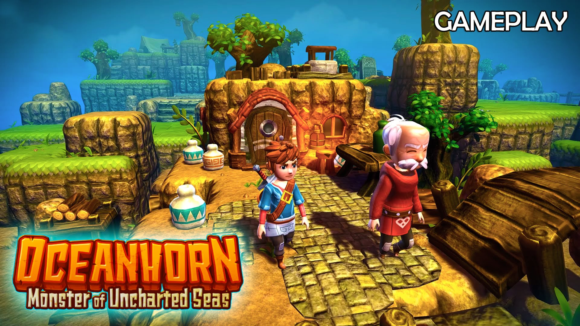 Oceanhorn Monster of the Uncharted Seas