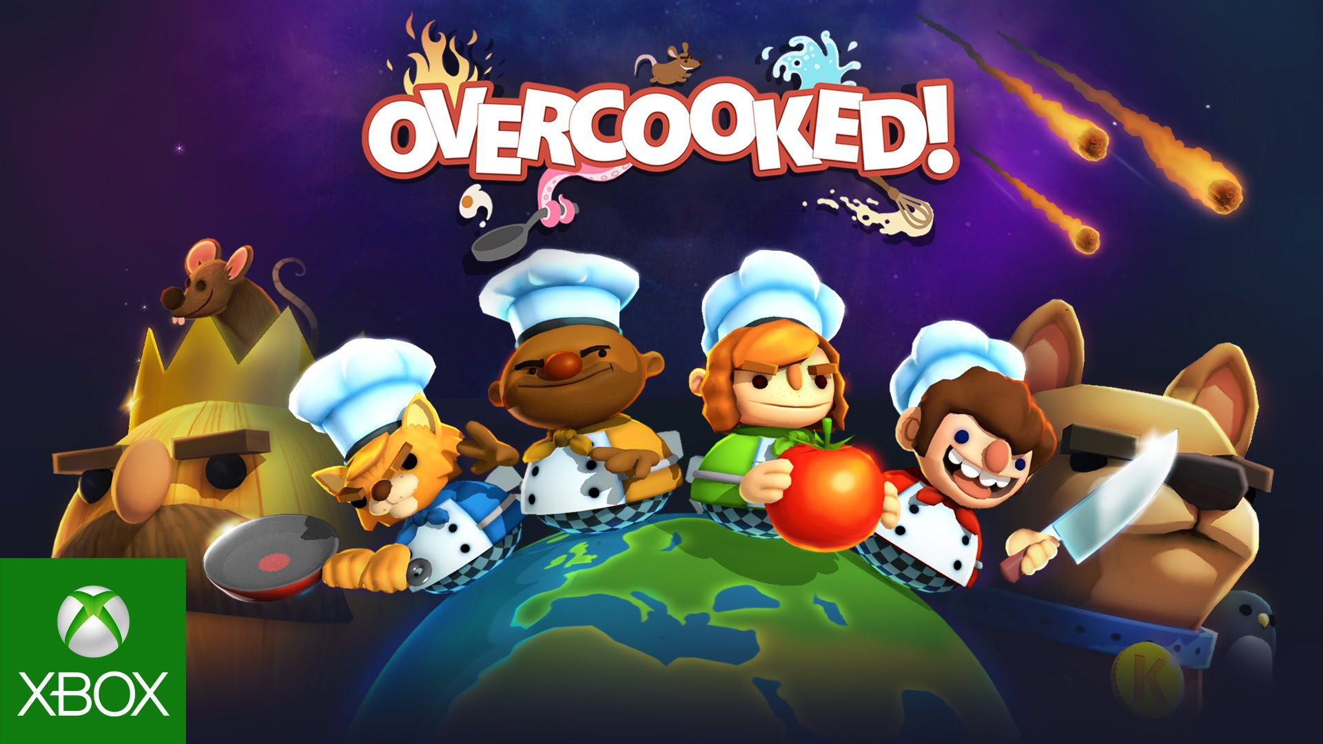 Overcooked xbox one games for kids