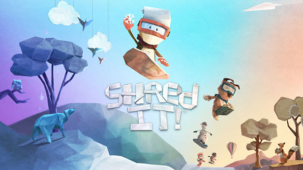 Shred It xbox one game for kids