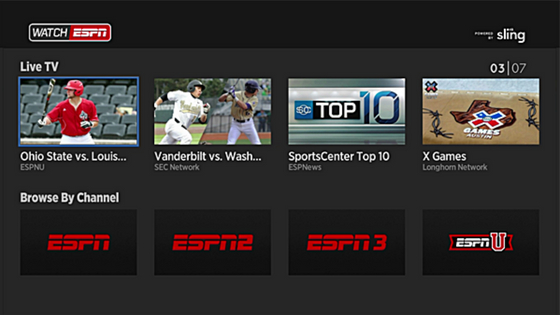 WatchESPN sports streaming sites free online