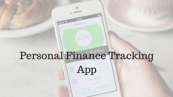 Personal Finance Tracking App