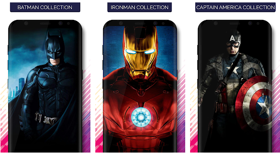 SuperHeroes Wallpapers app