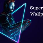 Superhero Wallpaper app for android