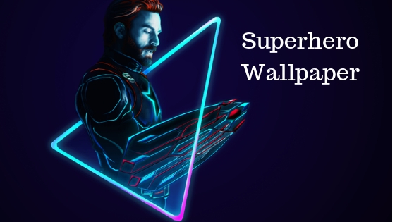Superhero Wallpaper app for android