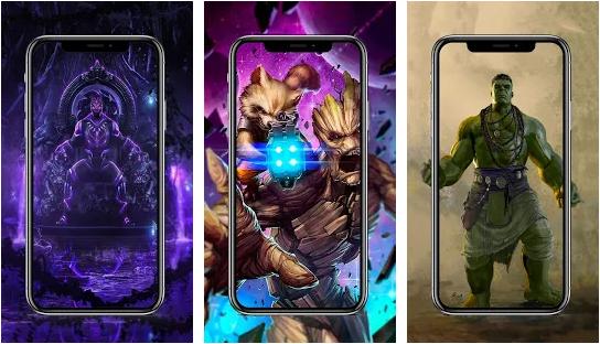 Superhero wallpaper HD android app