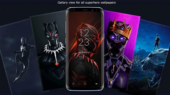 Superheroes Wallpapers by Ozone Studio