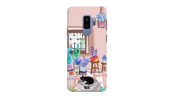 DailyObjects Cat in my room case cover for Samsung Galaxy S9 plus