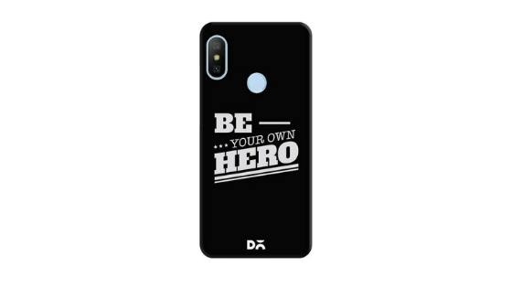 DailyObjects Quote Be Your Own hero blank case cover for Samsung Galaxy S9 Plus