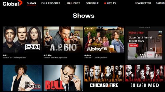 Global TV - CouchTuner Alternative