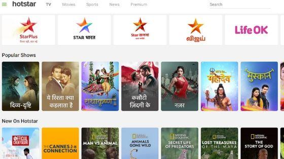 Hotstar - Free TV Shows Online Online